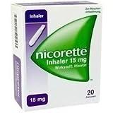 Nicorette Inhaler 15 mg, 20 St.