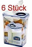 Lock&Lock Set HPL813F Klappbox 6 teilig a 1,8 l