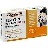 Ibu-Lysin ratiopharm 684 mg Tabletten, 20 Tbl.