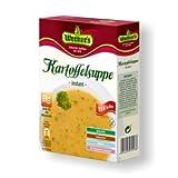 Werners sächsische Kartoffelsuppe 4 Teller - 1 Mahlzeit (Portion) nur 0,55€ - glutenfrei - auch für die Mikrowelle geeignet