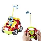 ICOCO Spielzeug Auto, Fernbedienung RC Radio Fernbedienung Spielzeug Fahrzeuge mit Musik und Licht für Babys und Kleinkinder