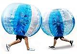 BAOSHISHAN aufblasbare Stoßkugel Fußball Zorb Ball Menschliche Blase Fußball Outdoor Fun Spielzeug Kollisionsball Durchmesser 1,5 mt