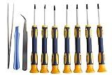 10 teiliger Torx Schraubendrehersatz T3, T4, T5, T6, T7, T8 und T10