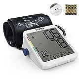 HOMIEE Oberarm Blutdruckmessgerät, klinische Vollautomatische professionelle Blutdruk-und Pulsmessung 2 * 120 Speicherplätze, mit Arrhythmie-Anzeige (5.5 Zoll Touchscreen)