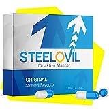 **NEU** Original STEELOVIL - Für MÄNNER - 12 Hochdosierte Kapseln 200mg | Neutrale Verpackung | Jetzt mit der revolutionären Hard-Shaft-Formel