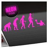 Kiwistar Wasserball Evolution Aufkleber Sticker 25 Farben Neon Matt