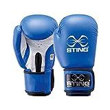 Sting Herren Boxhandschuhe, AIBA-Zulassung 283,495 g blau