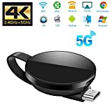 ATETION WIFI-Display-Dongle 5G / 2.4G WiFi Dongle HDMI Anzeige 1080P HD kompatibel mit DLNA / Airplay / Miracast für MacBook / Android / / iPhone X S MAX