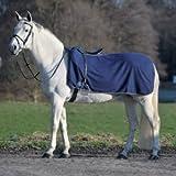Waldhausen Fleece Nierendecke Economic, marine, Pony, marine, Pony