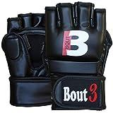 Bout3 MMA Handschuhe Profi Kampfsport Boxsack Sparring Training Grappling Gloves Freefight Sandsack Punchinghandschuhe Coachinghandschuhe