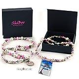 Shiboo Hundehalskette Coco-Pearls 25cm Pink
