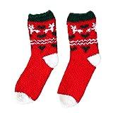JURTEE Nette Geschäfts Socken Weihnachtsdruck Druck Mittlere Sportsocken Weich, Elastisch Und Bequem, Hält Ihre Füße In Der Kalten Jahreszeit Warm