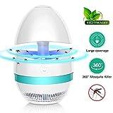 VZATT Insektenvernichter Elektrisch, Mückenschutz Lampe UV Fliegenfalle USB Moskito Schutz Falle Fluginsektenvernichter,Insektenlampe Für Innen Schlafzimmer Gärten