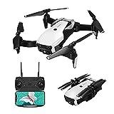 EACHINE E511 Drohne mit Kamera 1080P HD WiFi FPV Live Übertragung , App Ferngesteuerte RC Quadrocopter ,2.4GHz 6-Axis 4 Kanal ,Höhe-Halten,3D Flip,Flugbahn Flug,Faltdrohne für Anfänger(Weiß)