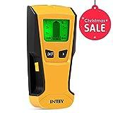 INTEY Ortungsgerät 3 in1 Digitale Multidetektor mit LCD-Display und Signalton für Metall, AC Draht und Holz