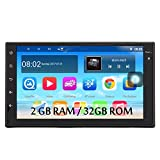 Panlelo S10P 2GB RAM/32GB ROM Autoradio Android 7.1 FM/AM/RDS Radio 2 din 7 Zoll Touchscreen GPS Navigationsgerät OBD Bluetooth WiFi Lenkradsteuerung Armaturenbrett-Einbau-Videogeräte Rückfahrkamera