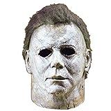 Ani·Lnc Michael Myers Maske Halloween Cosplay Horror Vollmaske Scary Movie Charakter Erwachsene Cosplay Kostüm Requisiten Spielzeug