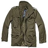 Brandit Herren M-65 Feldjacke Classic Jacke, Grün (Oliv 1), Medium