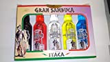 Cofre de mini flaschen Sambuca Ithaca 5X40ml 38%