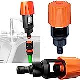 Vektenxi Premium-Qualität Universal Wasserhahn zum Gartenschlauch Rohrverbinder Mixer Küchenarmatur Adapter