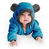 Funzies Fleece leichte Jacke - Winter Pyjama Oberbekleidung für Baby 12-18 monate Grüner Dino