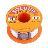 Lötdraht - 63/37 Kolophoniumkern Lötdrahtfluss 2% Zinn Blei Lötkolben Schweißen Drahtspule 0,6/0,8/1,0 mm 50 g (Größe : 1.0mm)