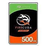 Seagate 500GB FireCuda Gaming SSHD Interne Solid State Hybrid Festplatte für PC und PS4 (Modell: ST500LXZ25/LX025)