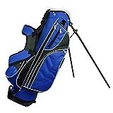 Golf Stand Bag Verschleißfeste Anti-Rutsch-Männer und Frauen Golf Zubehör Golf Club Bag mit Mehreren Funktionsabteil Taschen