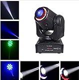 BORYLI 30W LED DMX512 Moving Head DJ-Beleuchtung, Tonregler, automatisch, rot, LED-Lampe, Motiv, Bühnenbeleuchtung für Hotel, Disco, Club, Party