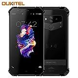 OUKITEL WP1 Outdoor Handy, 5.5 Zoll, Android 8.1 Wireless Charging Smartphone Ohne Vertrag, Dual SIM Handy, IP68 Wasserdicht Stoßfest Staubdicht, 4GB+64GB, Mobiltelefon 4G,5000mAh- Schwarz
