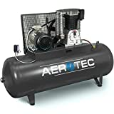 AEROTEC Druckluft-Kompressor 10 PS   7,5 kW 10 bar 500 l Kessel 400 Volt ölgeschmierter Kolben-Kompressor