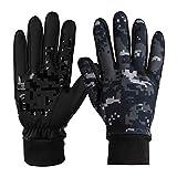 ODLICNO Touchscreen-Handschuhe, Touch Gloves Smartphone Handschuhe für Radfahren, Motorradfahren, Wandern und andere Outdoor-Aktivitäten (Getarnt, M)