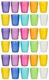 Kigima Trinkbecher Rainbow 0,24l 30er Set extra stabil