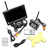 18-LED-Wireless-Rückfahrkamerasysteme, 7-Zoll-Wireless-Kit/Rückfahrsystem/Bus Wireless-Rückfahrbildschirm, wasserdicht und bequem