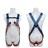 MFZTQ Safety Absturzsicherung,Fallschutz-Set mit Kletternder Sicherheitsgurt der Kinder,1,2m Fallschutzausrüstung