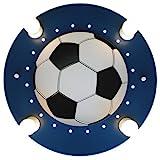 Elobra Deckenleuchte Fußball, dunkelblau/weiß 127766
