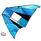 com-four Flugdrachen in bunten Farben für Kinder - Wind-Drache mit 30 Meter Langer Schnur - Einleiner Drachen in verschiedenen Modellen [Auswahl variiert] (01 Stück - Flugdrache 183 x 81 cm)