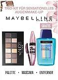 Maybelline New York Lidschattenpalette Lash Sensational Kit mit gratis Augen-Make-Up-Entferner, 30 g