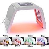 SWQA 4 Farben Photon PDT LED Licht Gesichts Maske Maschine Beruf Akne Behandlung Gesicht Aufhellung Haut Verjüngung Licht Therapie Schönheit