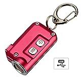 Nitecore TINI Mini Taschenlampe Schlüsselanhänger LED 380Lm USB Wiederaufladbar