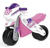 Feber 800008174 - Motofeber 2 Racing mit Helm Mädchen, Bobbycar und Rutscher