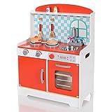 LCP Kids Kinder Spiel-Küche Mira 8 teiliges Komplett Set