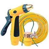 HaiMa Auto Schaumwasser Pistole Pinselwerkzeug Bewässerungsrohr-Leuchtend Gelb