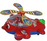 TMD-Line Kleinkind Spielzeug Schiebe Hubschrauber rot