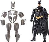 Mattel FYY22 - DC Batman Deluxe Figur mit Geräuschen 30 cm Actionfigur, Spielzeug Actionfiguren ab 4 Jahren