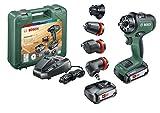 Bosch Akkuschrauber AdvancedDrill 18 Set (2 Akkus, 18 Volt System, im Koffer)