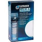BikeCare Motorradhelm-Pflege, Motorradhelm-Pflegemittel Helm- und Visierreiniger mit Funktionsschwamm 150ml, Unisex, Multipurpose, Ganzjährig