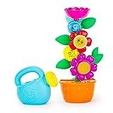 Wasserrad Wasserspiel für Kinder Mehrfarbig - hochwertiges Kleinkindspielzeug - Spielzeug für die Badewanne - ab 9 Monate