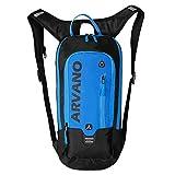 Arvano Mehrzweck-Biking-Rucksack, 6L Ski-Rucksack, atmungsaktiv Leichter Wasserdichter Fahrradrucksack für Outdoor Sports Camping Wandern Laufen Reisen Bergsteigen (Blau)