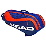 HEAD Unisex Jugend Junior Combi Rebel Tennistasche, Blue/orange, Andere
